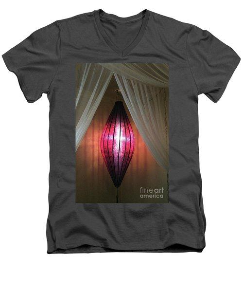 Ambiance Men's V-Neck T-Shirt by Alycia Christine