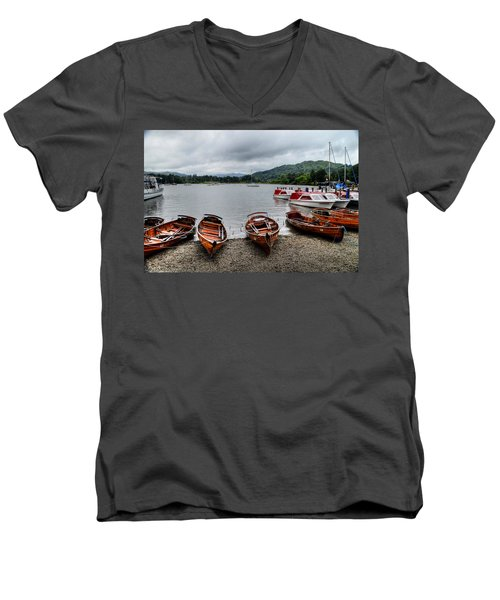Ambleside Boats Men's V-Neck T-Shirt
