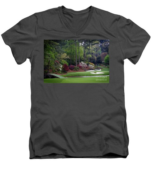 Amen Corner Augusta Men's V-Neck T-Shirt