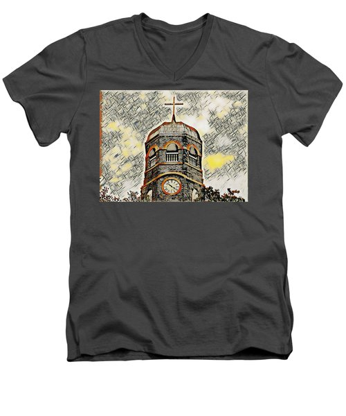 Amen Men's V-Neck T-Shirt