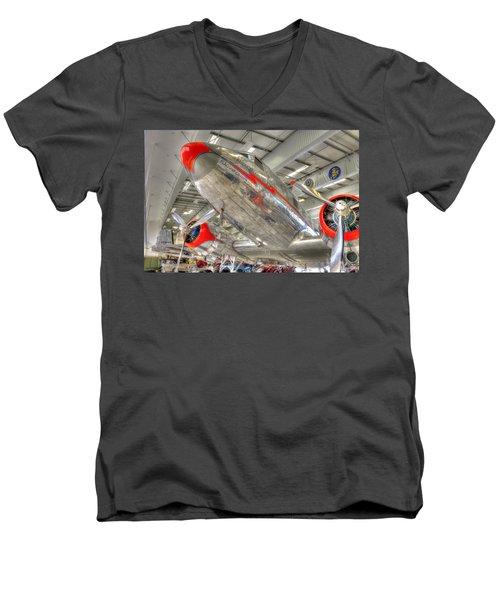 American 2 Men's V-Neck T-Shirt