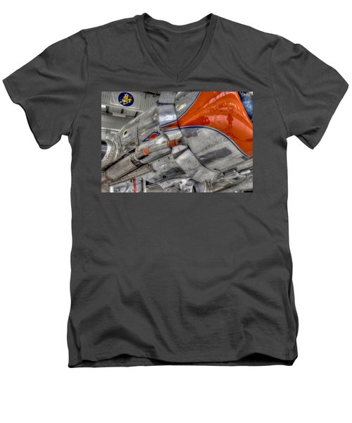 American 4plane, Airplane, Vintage Plane, War Plane, Museum Plane, Air Plane Museum, Air Craft. Cali Men's V-Neck T-Shirt