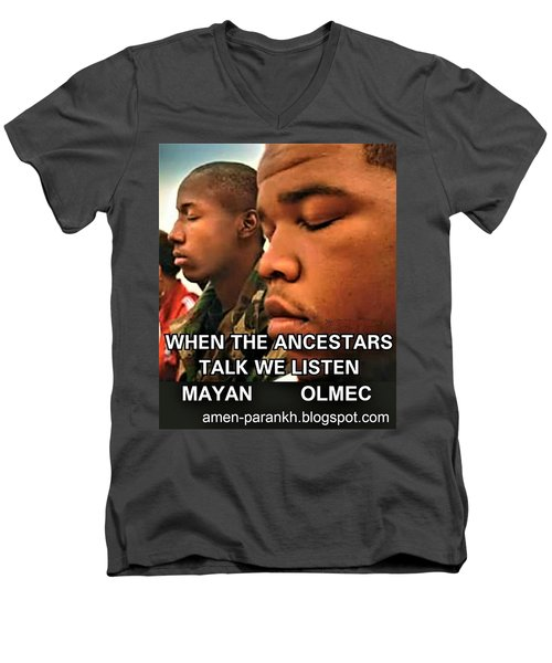 American Ancestars Men's V-Neck T-Shirt