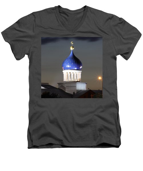American History 24x24 Men's V-Neck T-Shirt
