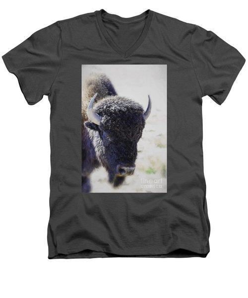 American Life  Men's V-Neck T-Shirt