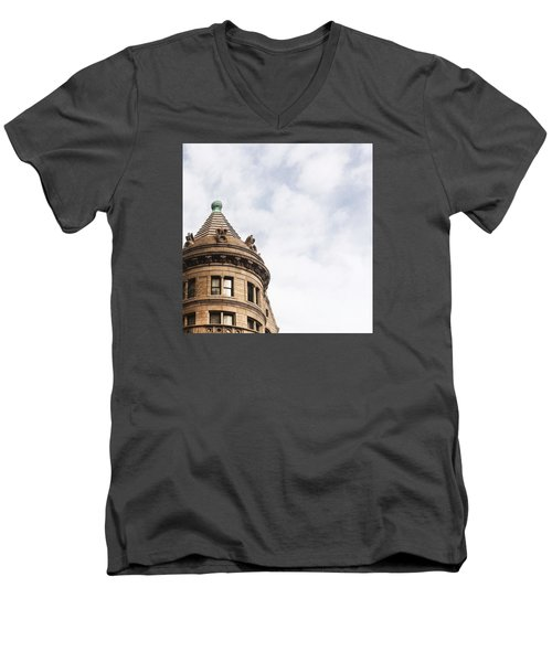 American Museum Of Natural History Men's V-Neck T-Shirt