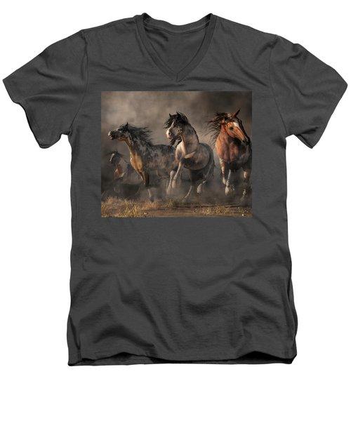 American Paint Horses Men's V-Neck T-Shirt