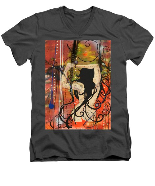 American Witch Men's V-Neck T-Shirt