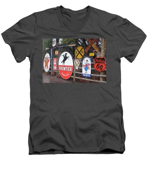 Americana Rt.66 Men's V-Neck T-Shirt