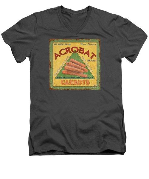 Americana Vegetables 2 Men's V-Neck T-Shirt