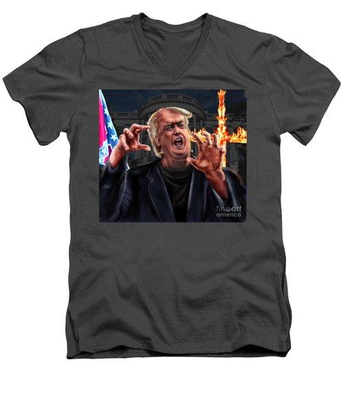 Amerikkkenstein Men's V-Neck T-Shirt