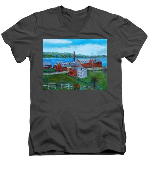 Amesbury Hat Shop Men's V-Neck T-Shirt