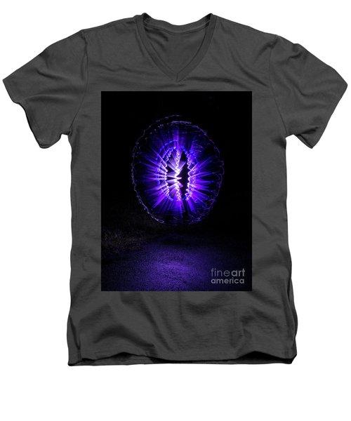 Amethyst Men's V-Neck T-Shirt