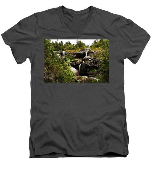 Ammonoosuc Falls Men's V-Neck T-Shirt