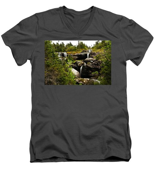 Ammonoosuc Falls Men's V-Neck T-Shirt