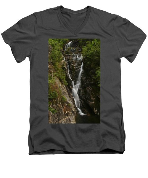Ammonoosuc Ravine Falls Men's V-Neck T-Shirt