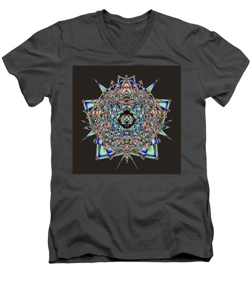 Amphlegman Men's V-Neck T-Shirt