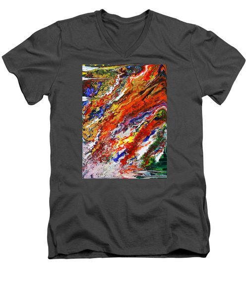 Amplify Men's V-Neck T-Shirt by Ralph White