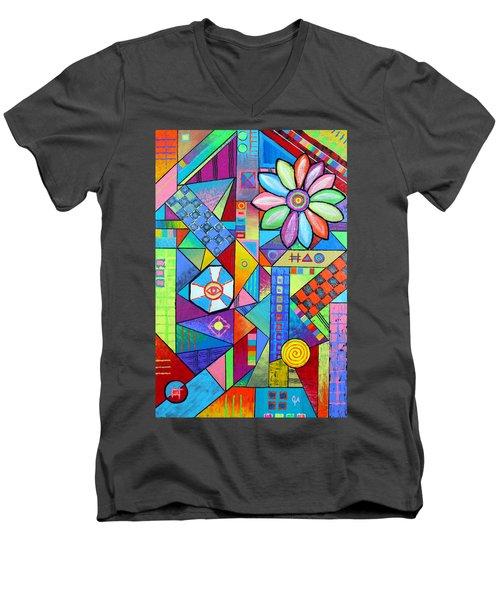 An All Seeing Eye Men's V-Neck T-Shirt