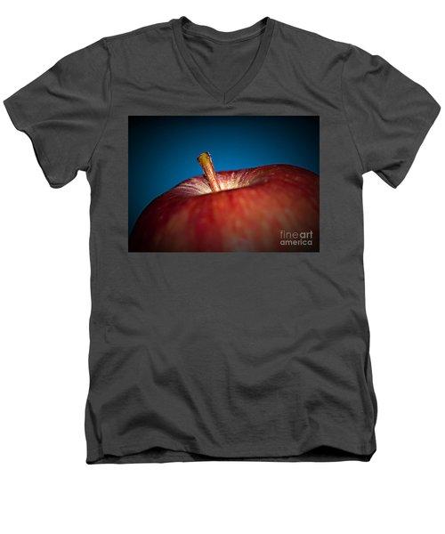 An Apple A Day Men's V-Neck T-Shirt
