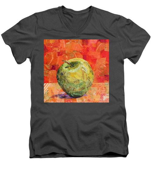 An Apple For Granny Men's V-Neck T-Shirt