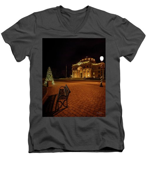 An Atascadero Christmas Men's V-Neck T-Shirt