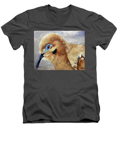An Eye For Art Men's V-Neck T-Shirt