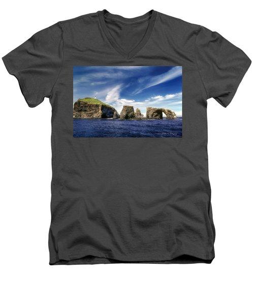 Channel Islands National Park - Anacapa Island Men's V-Neck T-Shirt