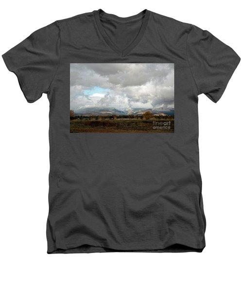 Anaconda Range Men's V-Neck T-Shirt by Cindy Murphy - NightVisions