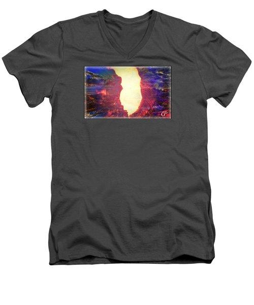Anahel Men's V-Neck T-Shirt