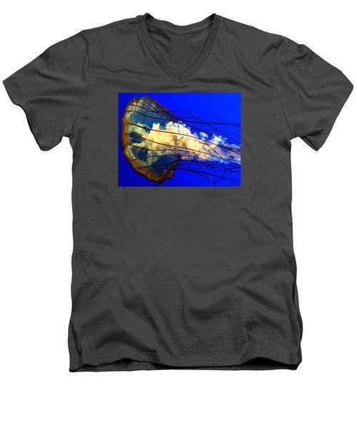 Anatomy Of Sea Nettle Men's V-Neck T-Shirt