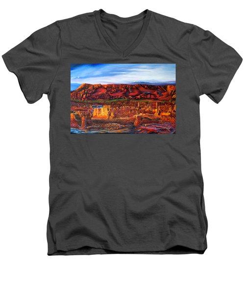 Ancient City Men's V-Neck T-Shirt