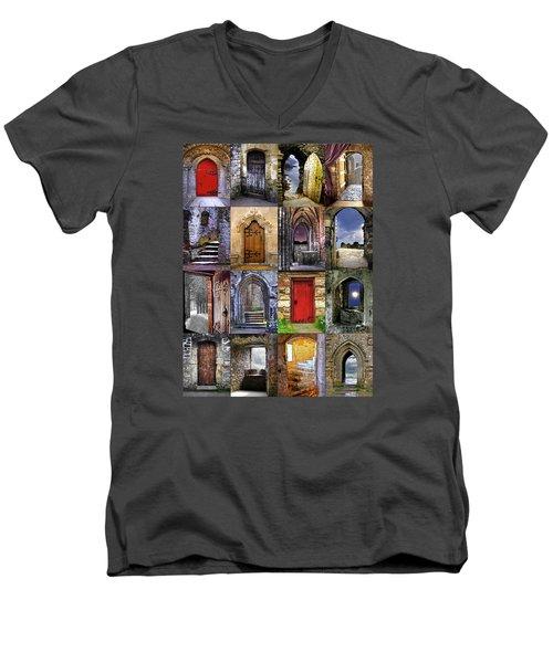 Ancient Doorways Men's V-Neck T-Shirt