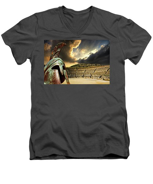 Ancient Greece Men's V-Neck T-Shirt