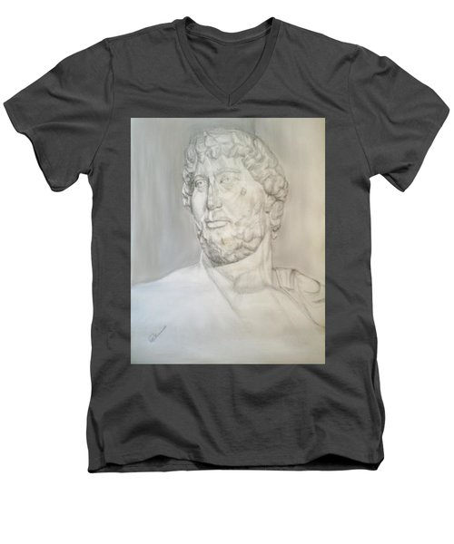 Ancient Greek Statue Men's V-Neck T-Shirt