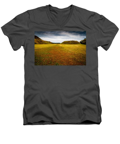 Ancient Indian Burial Ground  Men's V-Neck T-Shirt