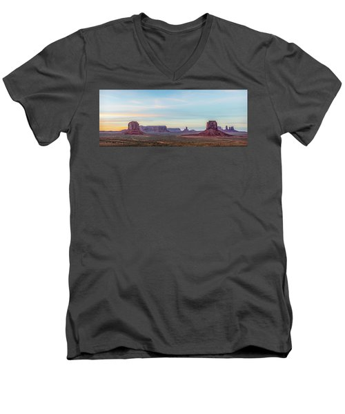 Ancient Voices Men's V-Neck T-Shirt by Jon Glaser