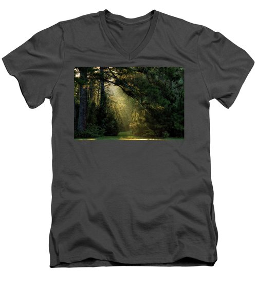 And A New Day Will Dawn... Men's V-Neck T-Shirt
