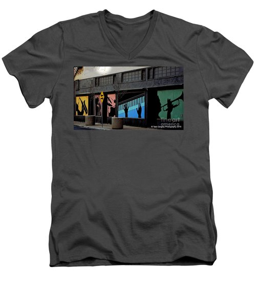 And All That Jazz Men's V-Neck T-Shirt