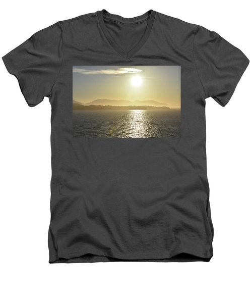 And The Sun Goes Down Men's V-Neck T-Shirt