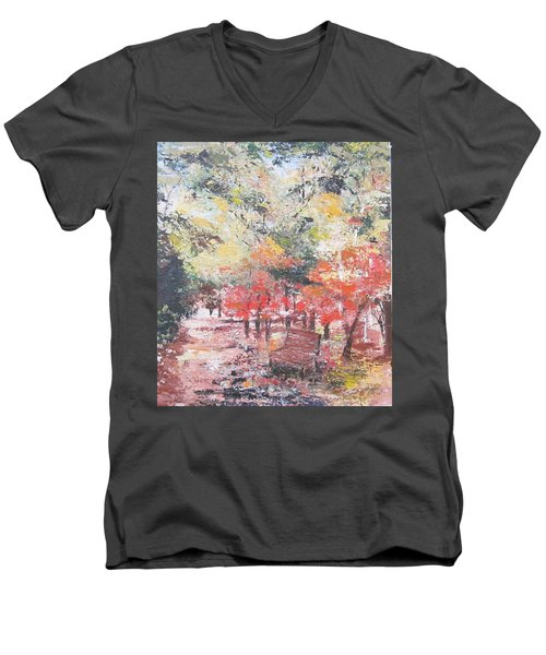 And Then There Was Fall Men's V-Neck T-Shirt