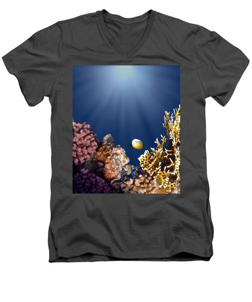 And Then There Was Light Men's V-Neck T-Shirt