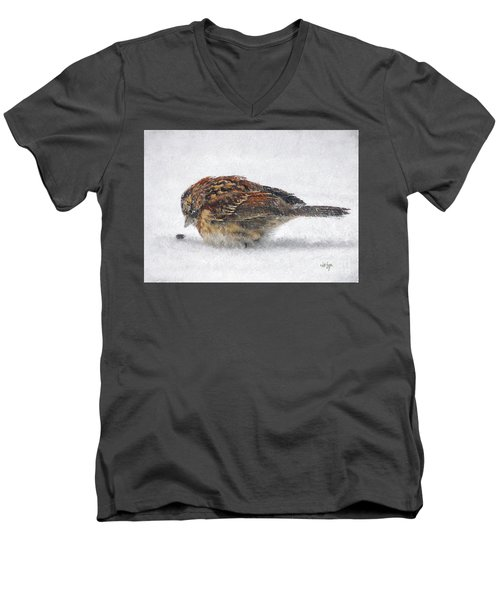 And These Thy Gifts  Men's V-Neck T-Shirt by Lois Bryan