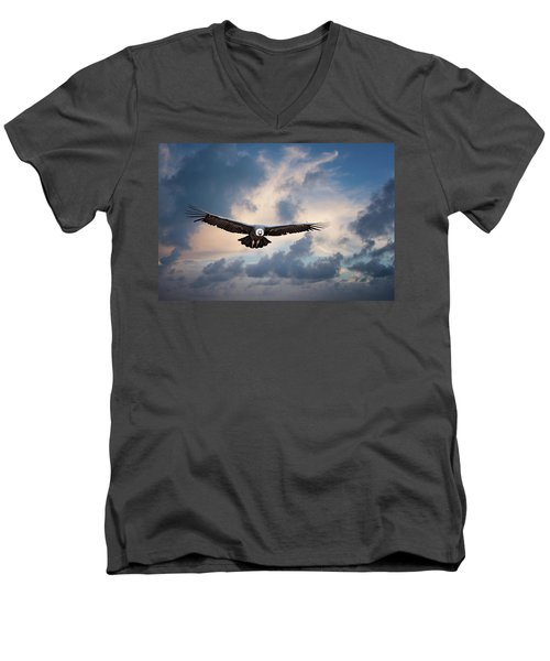 Andean Condor Men's V-Neck T-Shirt