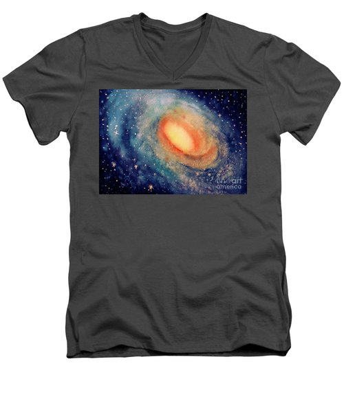 Andromeda Men's V-Neck T-Shirt