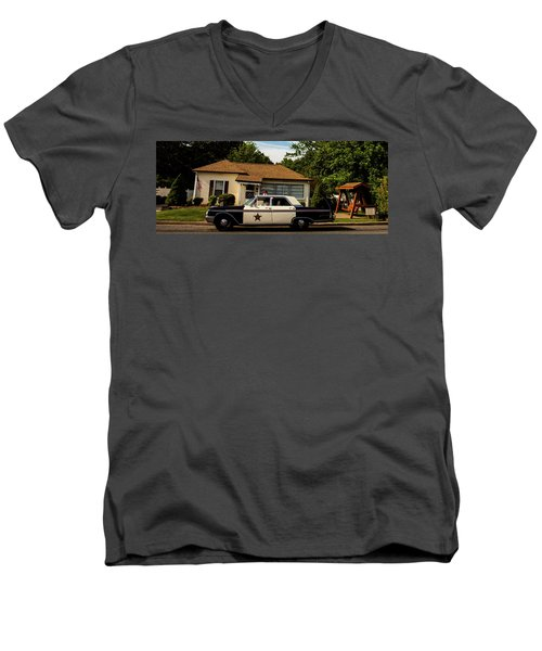 Andy And Barney Men's V-Neck T-Shirt