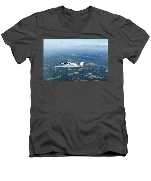 Andy And His Bonanza Men's V-Neck T-Shirt