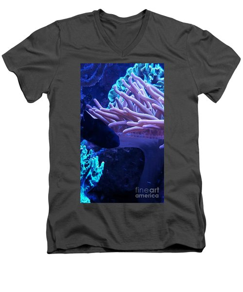 Anemone Men's V-Neck T-Shirt