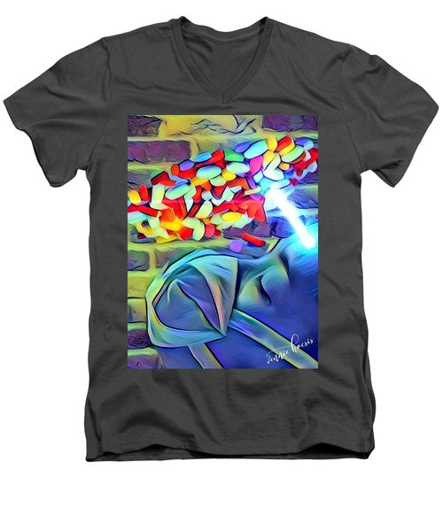 Anesthetized  Men's V-Neck T-Shirt
