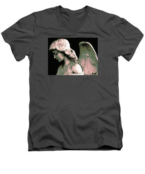 Angel 4 Men's V-Neck T-Shirt